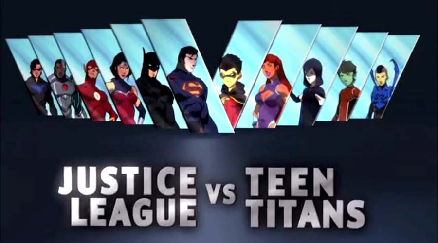 Justice League vs. Teen Titans 2016 Full Movie Free Download