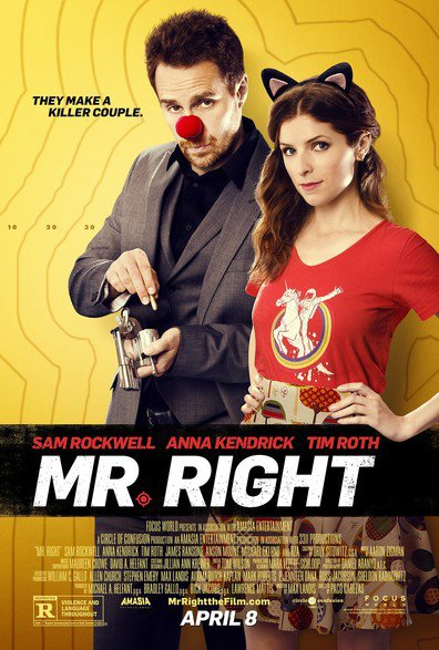 Watch Mr Right 2015 Full Movie Online Free Download