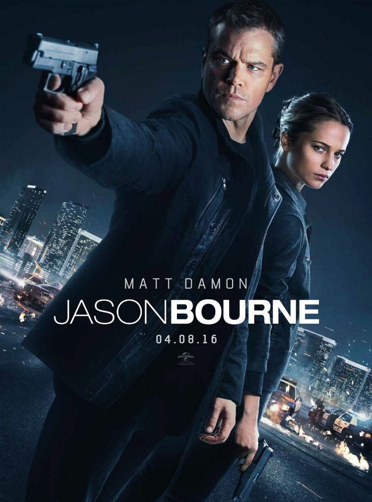 Jason Bourne 2016 Full Movie Free Download