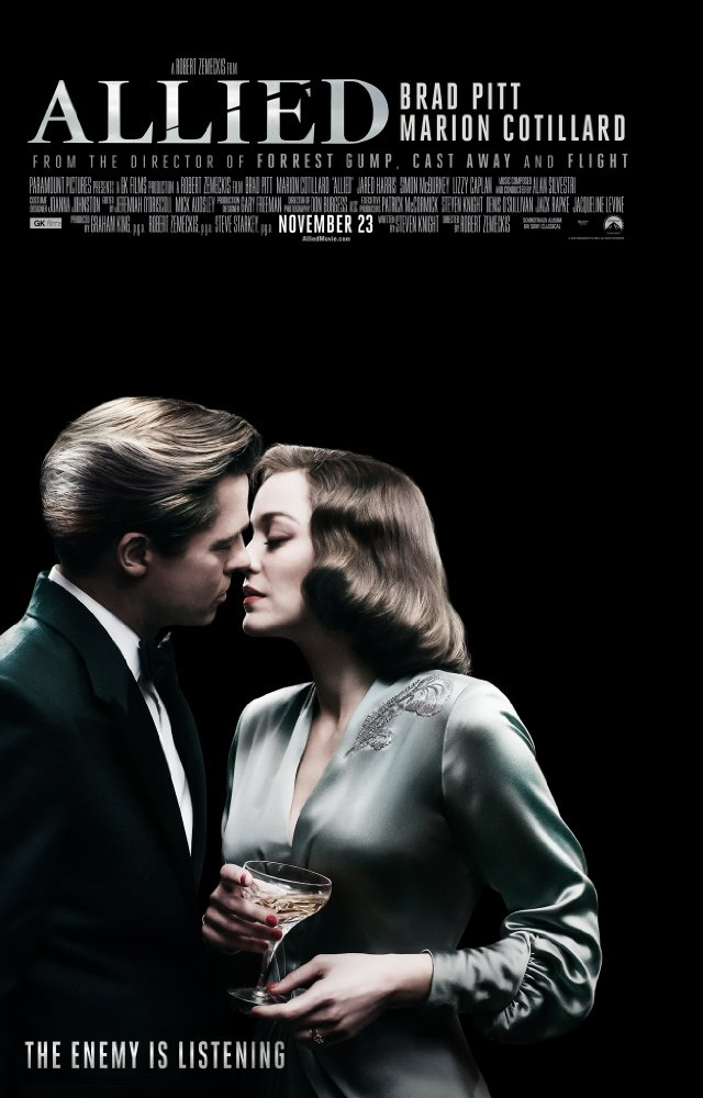 Allied 2016 Movie Free Download HD