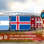 Argentina vs Iceland Live Streaming Online on HD TV (Russia World Cup 2018)