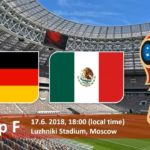Germany vs Mexico Live Streaming Online on HD TV - FIFA World Cup 2018